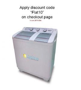 Kenwood Washing Machine Semi Automatic KWM-1010SA 10 Kg Flat 10 %
