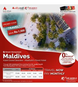 Best of  Maldives 5Nights/6Days Twin Bed