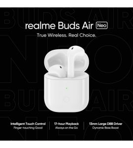 Realme Buds Air Neo Bluetooth True Wireless Headset - PTA Approved - 1 Year Official Brand Warranty by Gear Up