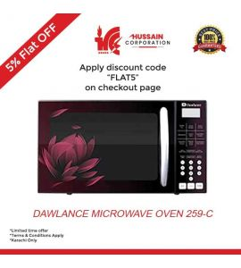 Dawlance Microwave Oven DW-259C Convection and Baking Series --Karachi Only-Including Free Delivery-FLAT 5 % OFF