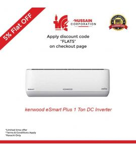 Kenwood 1.0 Ton E Smart plus Inverter 75 % Saving With Wifi-Karachi Only-Including Free Delivery-FLAT 5% OFF