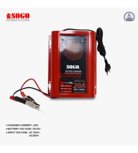Sogo Battery Charger 20 Amp (SG-120A)