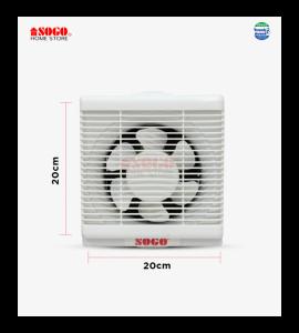 Sogo Exhaust Ventilation Fan Square Type (15cm)