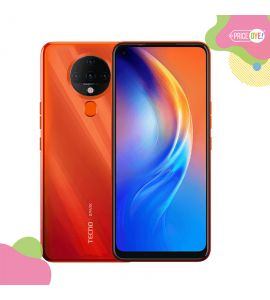 Tecno Spark 6 ( 64GB , 4GB RAM ) Dynamic Orange