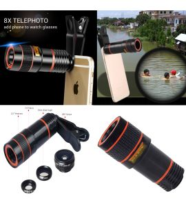 4 in 1 Camera Lens for Tiktokers | Youtubers | Video Making and much more by Gear Up