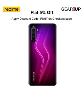 Realme 6 Pro - 6.6 Inch Display - 8GB RAM - 128GB ROM - PTA Approved - 1 Year Official Brand Warranty - Lightning Red - Flat 5% Discount