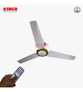 SHS-Sogo AC/DC Ceiling Fan - Remote Control - Copper Winding - 56 inches (JPN-707)