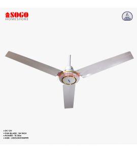 Sogo AC/DC Ceiling Fan - Remote Control - Copper Winding - 56 inches (JPN-801)