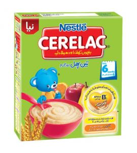 Nestle Cerelac Three Fruits and wheat 350 gm