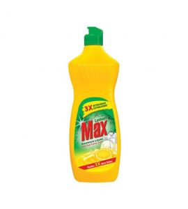 Lemon Max Dish Wash Liquid Yellow 475 ml
