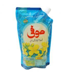 Sufi Canola Oil Nozzle Pouch 1 Liter Pouch