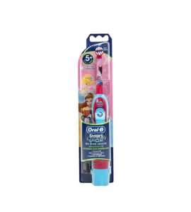 Oral B Electric Toothbrush for Kids Blue Pink (4510K)