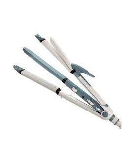 ANEX AG-7038 Hair Straightner, Curler, Crimper  3 in 1  - SNS