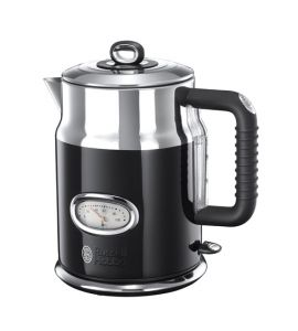 Russell Hobbs Retro Electric Kettle Black (21671) - IS