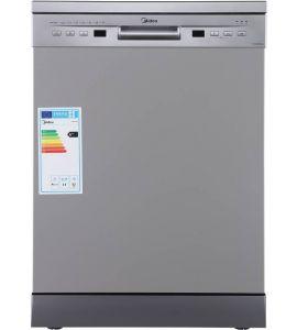 Midea Dishwasher Silver | WQP12-5201FS-AC-INST