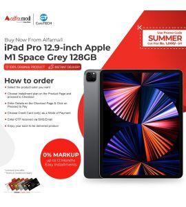 Apple iPad Pro 12.9-inch Apple M1 Space Grey 128GB WiFi CoreTECH Installment
