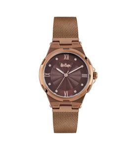 Lee Cooper Quartz Women's Watch Brown (LC06702.740)