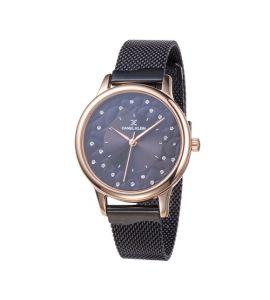 Daniel Klein Premium Ladys Stainless Steel Watch For Women IP Black (DK-11802-3)