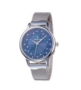 Daniel Klein Premium Ladys Stainless Steel Watch For Women IP Silver (DK-11802-6)