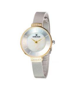 Daniel Klein Fiord Stainless Steel Watch For Women Silver (DK-11808-7)