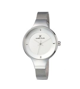 Daniel Klein Fiord Stainless Steel Watch For Women Silver (DK-11846-1)