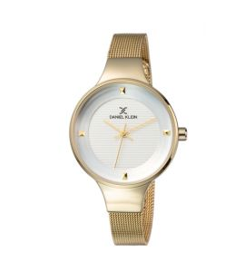Daniel Klein Fiord Stainless Steel Watch For Women Golden (DK-11846-5)