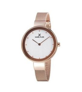 Daniel Klein Classic Stainless Steel Watch For Women Pink (DK11854-3)