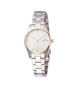 Daniel Klein Fiord Stainless Steel Watch For Women Silver (DK 11879-3)