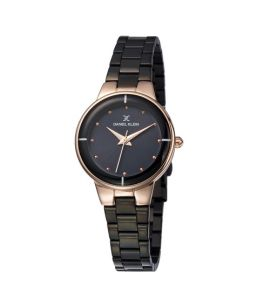 Daniel Klein Premium Stainless Steel Watch For Women Black (DK 11889-4)