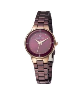 Daniel Klein Premium Stainless Steel Watch For Women IPD.Brown (DK 11889-5)