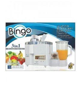 Bingo 3-In-1 Juicer B/G White (JBG-800-BS) - On Installment - IS