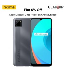 Realme C11 - 6.5 Inch Display - 2GB RAM - 32GB ROM - PTA Approved - 1 Year Official Brand Warranty - Pepper Grey - Flat 5% Discount