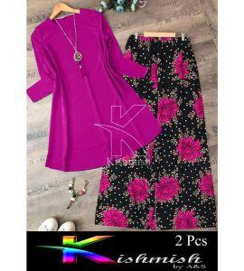 A&S Pink Rozana 2 Pcs Suit