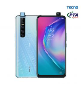 Tecno Camon 15 Pro - 6.6 Inch Display - 6GB RAM – 128GB ROM - PTA Approved - 1 Year Official Brand Warranty – Opal White