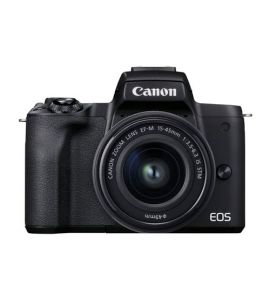 Canon EOS M50 Mark II With 15-45mm Lens (Black) - On Installment - IS