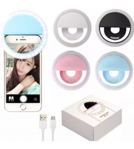 Selfie LED Ring Light for Smart Phones Rechargeable 36 LEDS and 3 Modes of Brightness Tiktok
