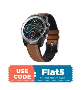 DT79 Smart Watch For Android & IOS (Brown) flat 5% off TM