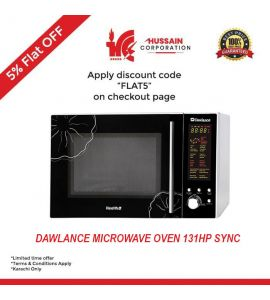 Dawlance Cooking Series Microwave Oven 30 Ltr (DW-131-HP-SYNC)-Karachi Only-Including Free Delivery-FLAT 5 % OFF