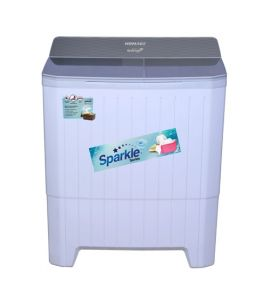 Homage Sparkle Top Load Semi Automatic Washing Machine Gray Diamond 11Kg (HW-49112) - On Installment - IS
