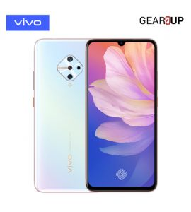 Vivo Y51 - 6.38 Inch Display - 4GB RAM - 128GB ROM - PTA Approved - 1 Year Official Brand Warranty - Dreamy White