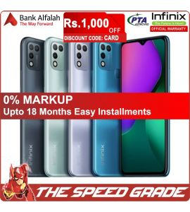Infinix Hot 10 Play - 3GB RAM - 32GB Storage - 1 Year Official Brand Warranty  | On Installments | The Speed Grade