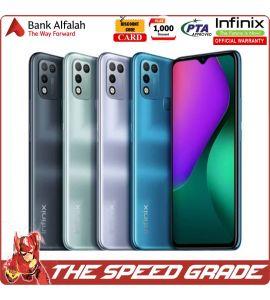 Infinix Hot 10 Play - 3GB RAM - 32GB Storage - 1 Year Official Brand Warranty   The Speed Grade