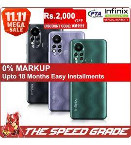 Infinix Hot 11S - 4GB RAM - 128GB Storage - 1 Year Official Brand Warranty | On Installments | The Speed Grade