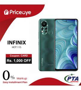 Infinix Hot 11S  ( 128GB - 4GB RAM ) - On Easy Installments