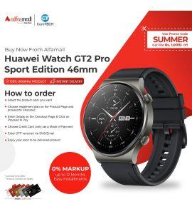 Huawei Watch GT2 Pro 46mm Sports Edition Night Black Color CoreTECH Installment