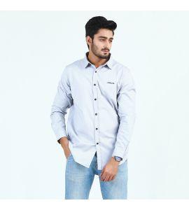 Grey Casual Shirt For Men