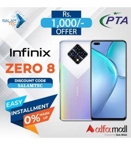 Infinix Zero 8 8GB, 128GB On Easy Installment with Official Warranty- Salamtec