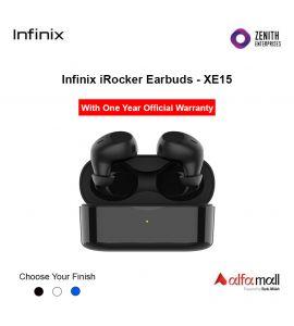 Infinix iRocker 1 Earbuds XE-15 With One Year Warranty - Zenith Enterprise-Black