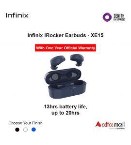 Infinix iRocker 1 Earbuds XE-15 With One Year Warranty - Zenith Enterprise-blue