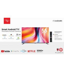itel Smart android tv G series 55 - Instalment - SNS